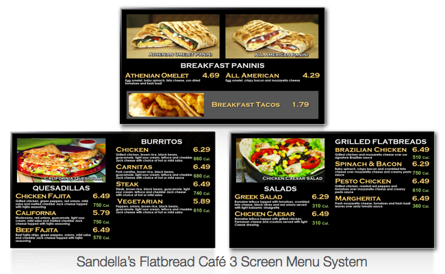 Digital Menu Board Gallery.007