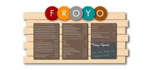 custom magnetic menu board