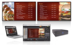 digital menu board origin elite