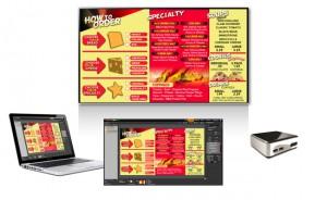 digital menu board origin express