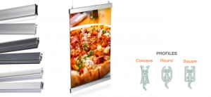 display fixtures graphic holders