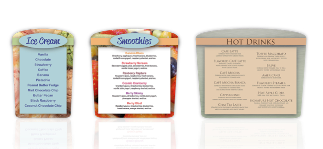 maxim magnetic menu board series