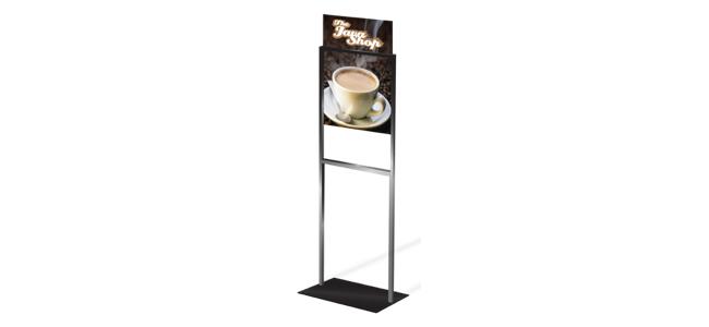 menu board floor stands
