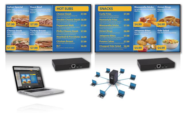 origin pro digital menu board